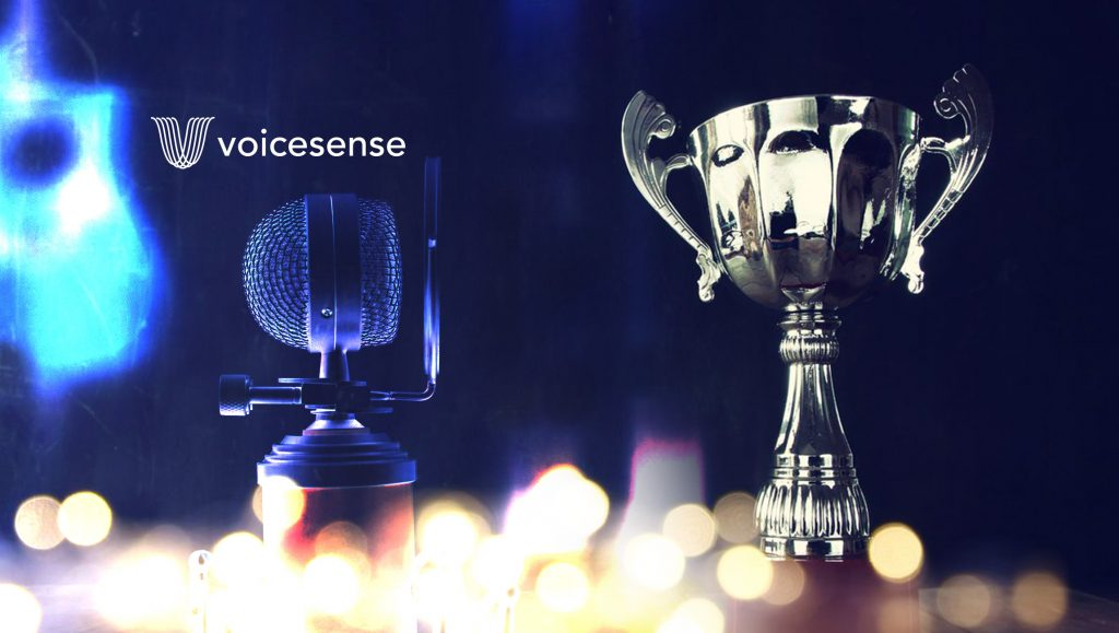 Voicesense Wins Excellence in Customer Service's Technology of the Year Award
