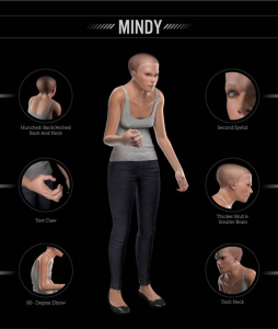 Claw Hands, Hunched Backs, and Bent Elbows: 3D Model Shows How Technology Affects the Human Body