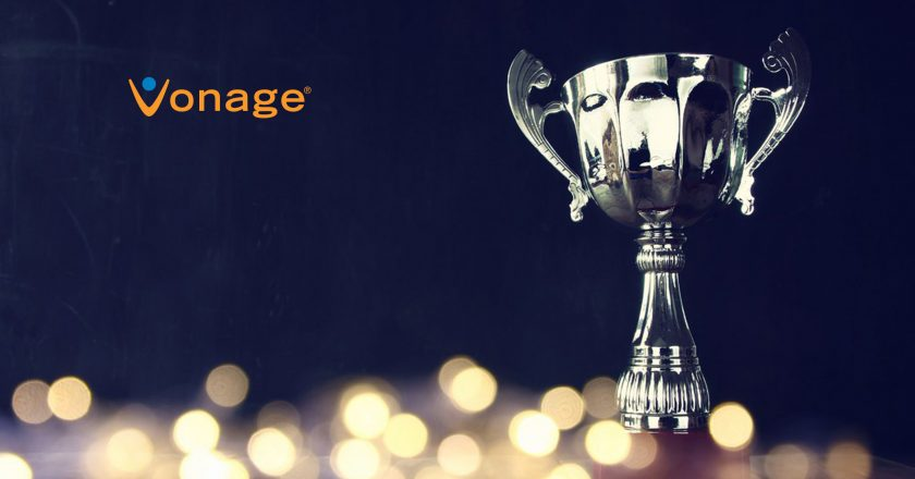 Vonage Wins 2019 ContactCenterWorld Top Ranking Performer Award