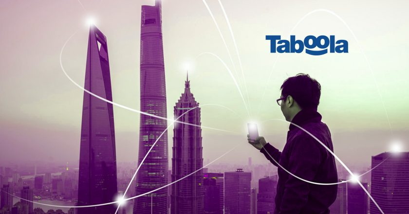 Sony Network Communications Partners With Taboola to Integrate Taboola News Into Sony News Suite Services Across 34 Countries