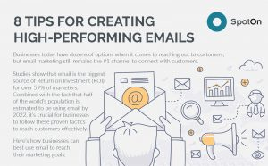 8 Tips for Creating High-Performing Emails