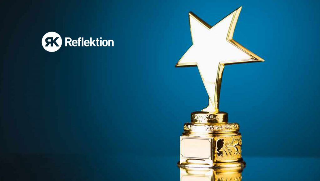 Reflektion Honored in 2019 MarTech Breakthrough Awards Program