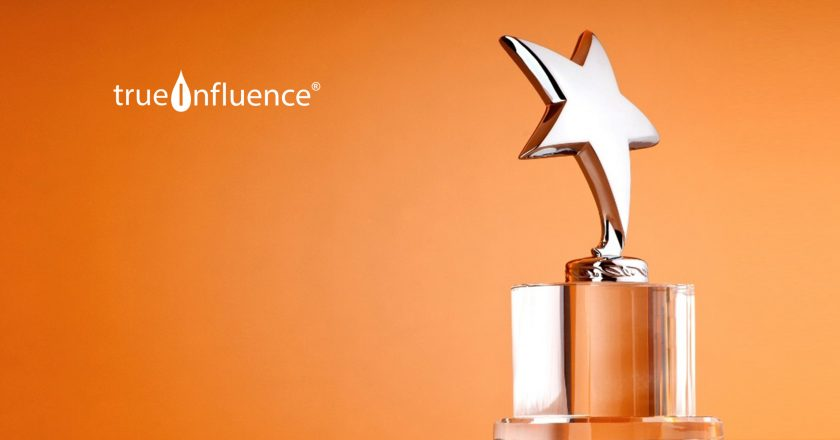 "True Influence InsightBase Named ""Best Influencer Marketing Management Platform"" in 2019 MarTech Breakthrough Awards Program"