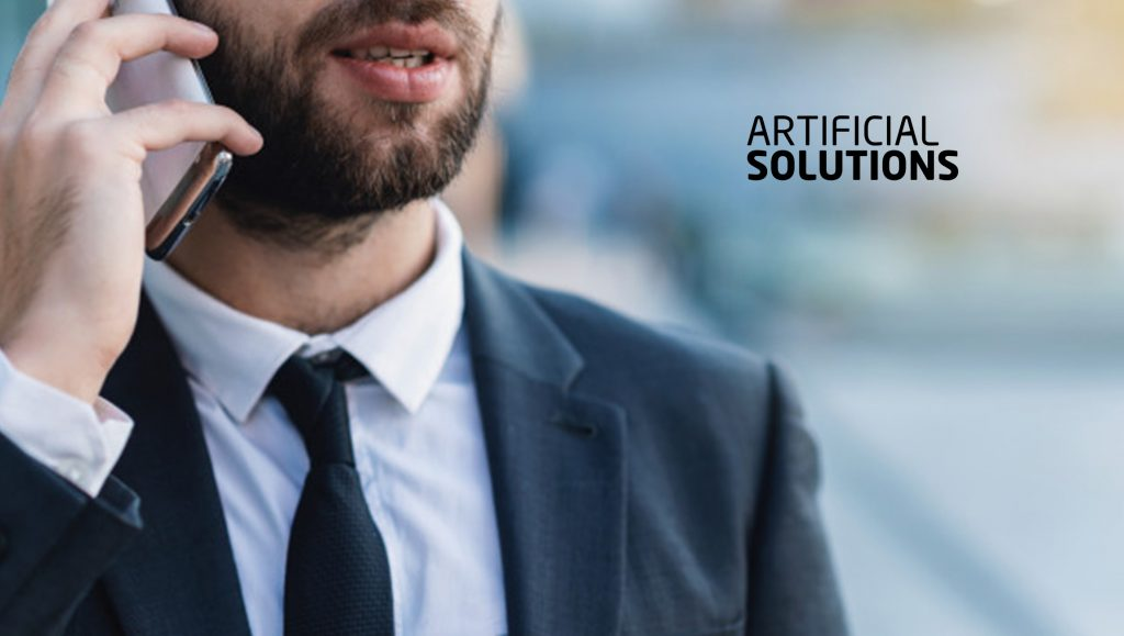 Artificial Solutions Pioneering Conversational AI Patents Validated by Tech Giants' Forward Citations