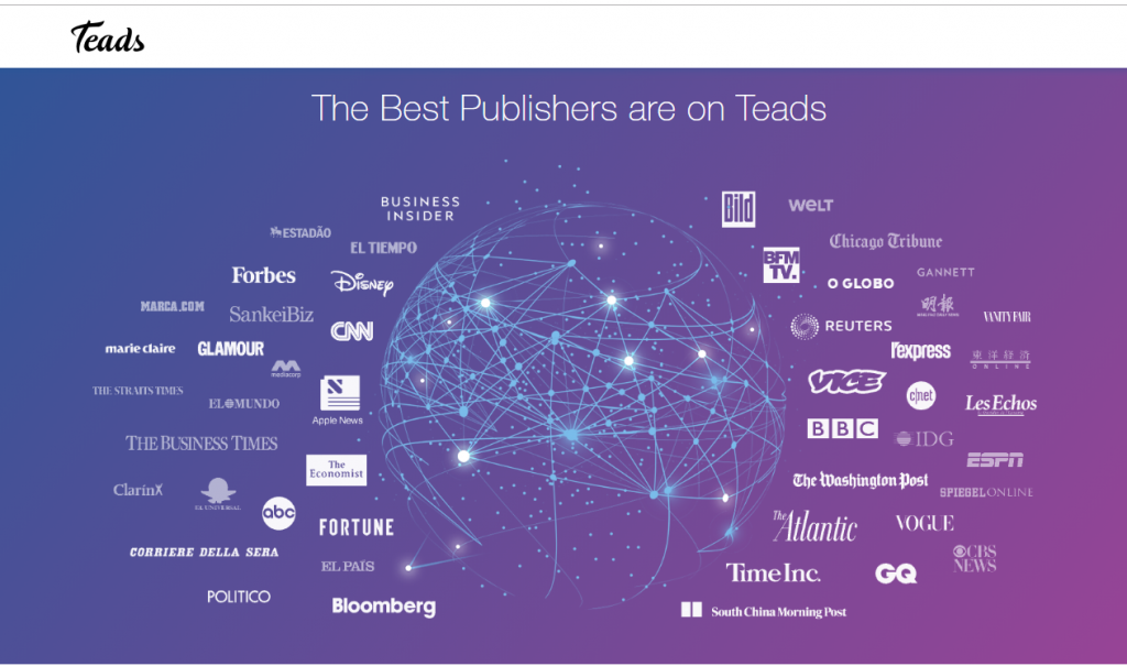 Teads Publishers