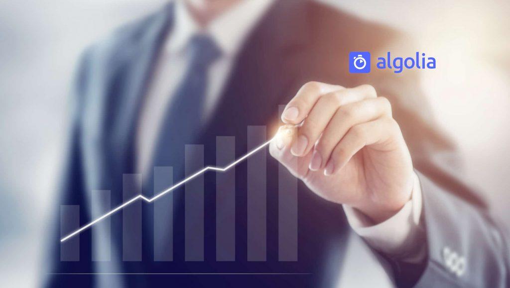 Algolia Raises $110 Million in Funding