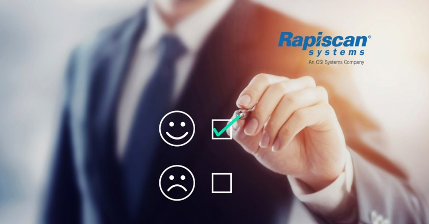 Rapiscan® Systems Recognized for Excellence in Customer Service