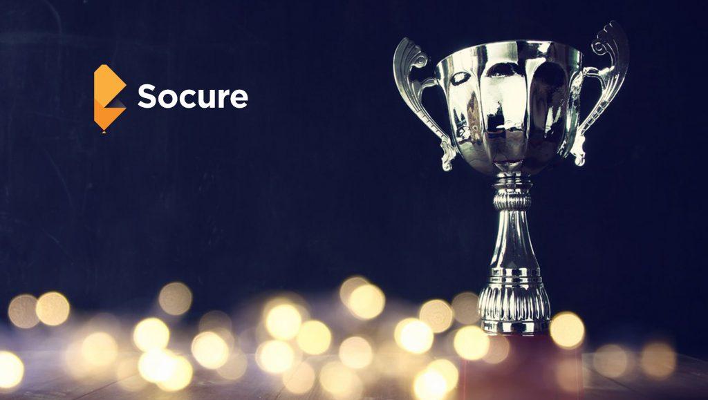 Socure Wins 2019 API World Award for Best in Data APIs