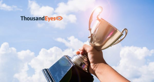 ThousandEyes Recognized as Leading SaaS and Cloud Innovator with Two New Award Wins