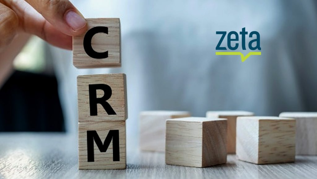 Zeta Global Continues Investment in CRM Division with Hire of Rob Lentz as SVP Enterprise Operations