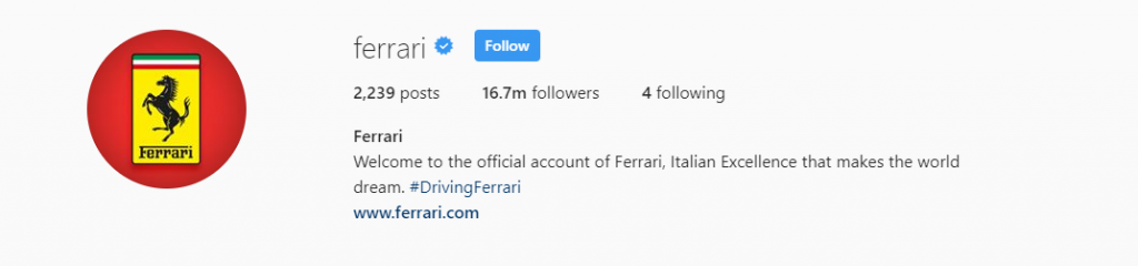 https://www.instagram.com/ferrari/?hl=en