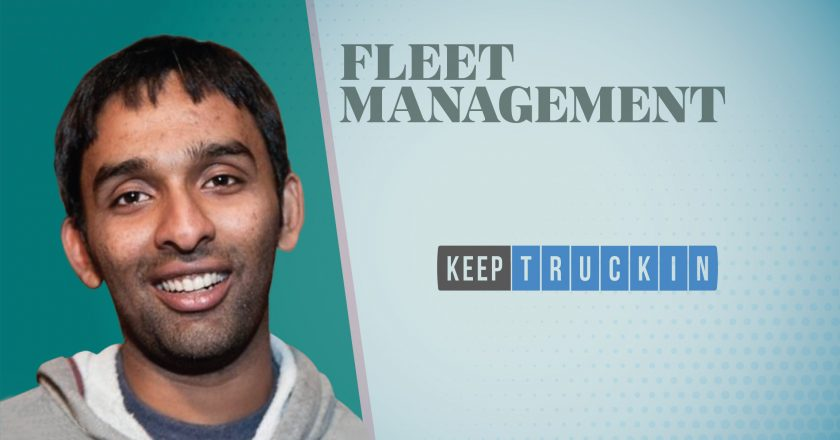 TechBytes with Jairam Ranganathan, VP of Product at KeepTruckin