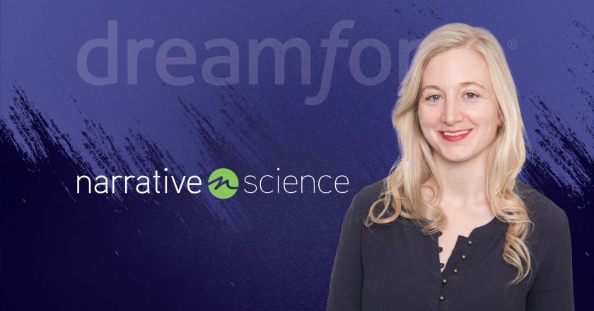 Dreamforce Interview with Keelin McDonell, General Manager of Business Intelligence & Integrations at Narrative Science