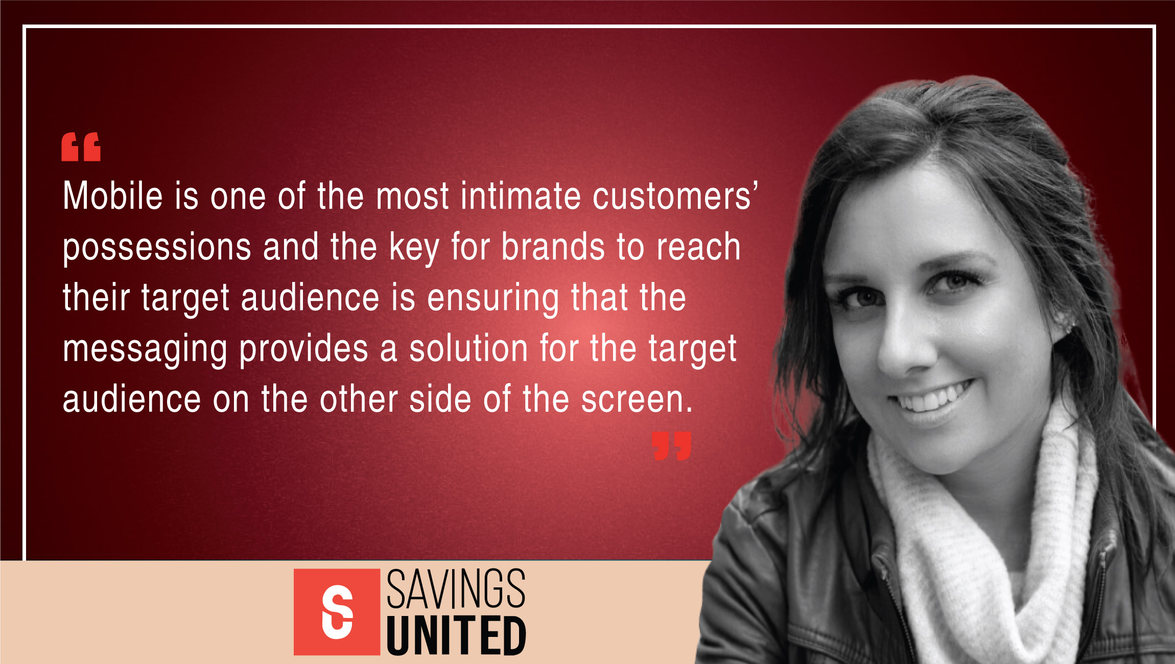 TechBytes with Leah Holcomb, Partnerships Manager at Savings United GmbH