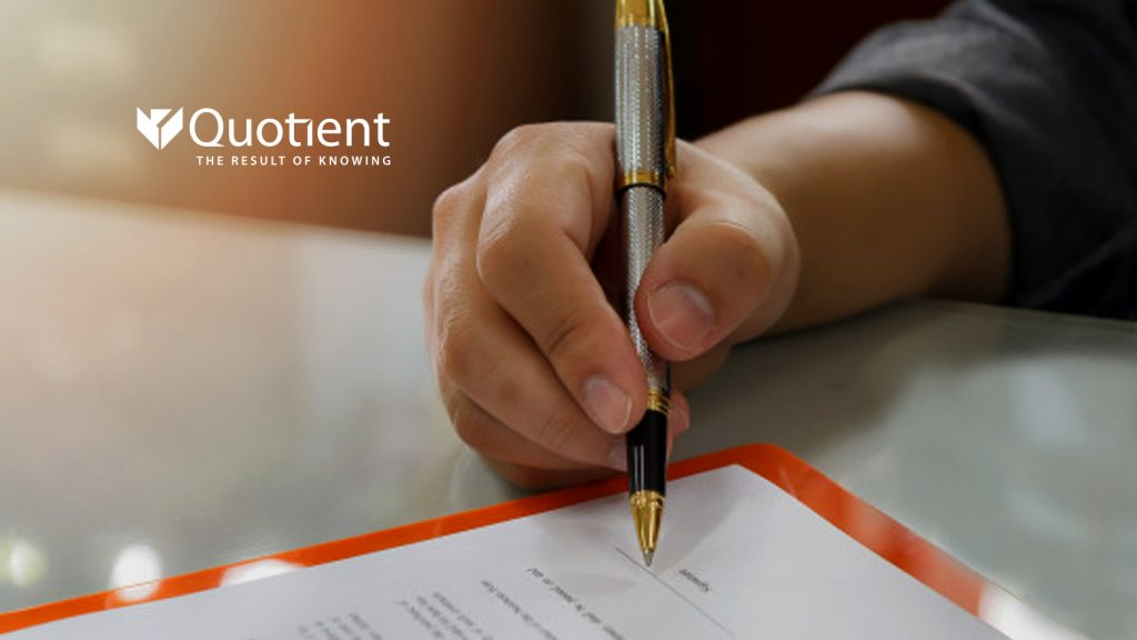 Quotient Signs Definitive Agreement to Acquire Ubimo