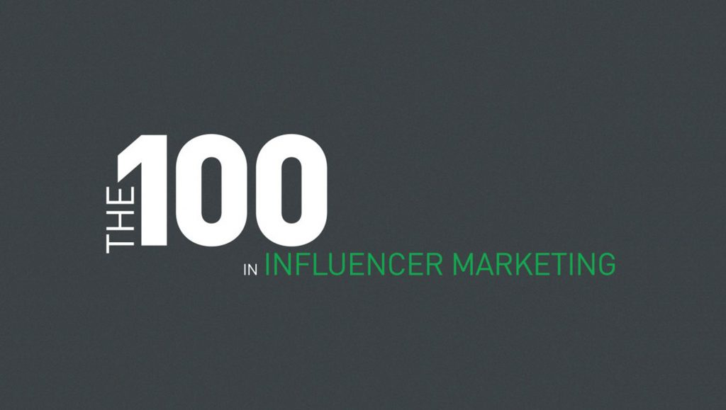 The 100 Most Influential People In Influencer Marketing