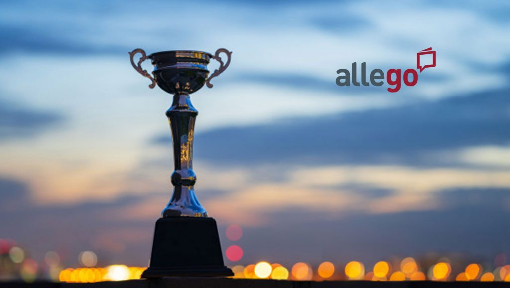 "Allego Wins 2019 Brandon Hall Group Excellence in Technology Award for ""Best Advance in Sales Training Online Application"" for the Second Year in a Row"