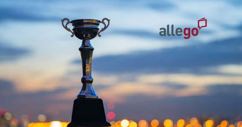 """Allego Wins 2019 Brandon Hall Group Excellence in Technology Award for """"Best Advance in Sales Training Online Application"""" for the Second Year in a Row"""