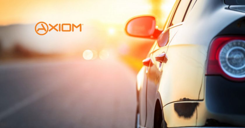 Axiom Debuts Axiom Connected, Intensifying Commitment to Transforming the Automotive Ownership Experience