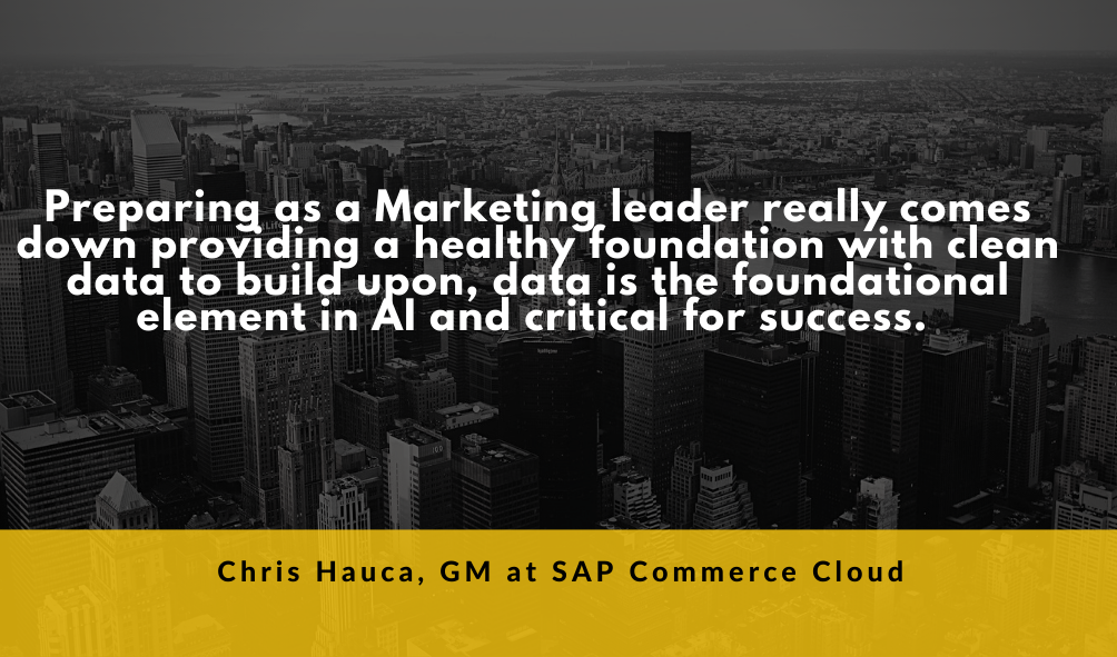 Chris Hauca, General Manager at SAP Commerce Cloud