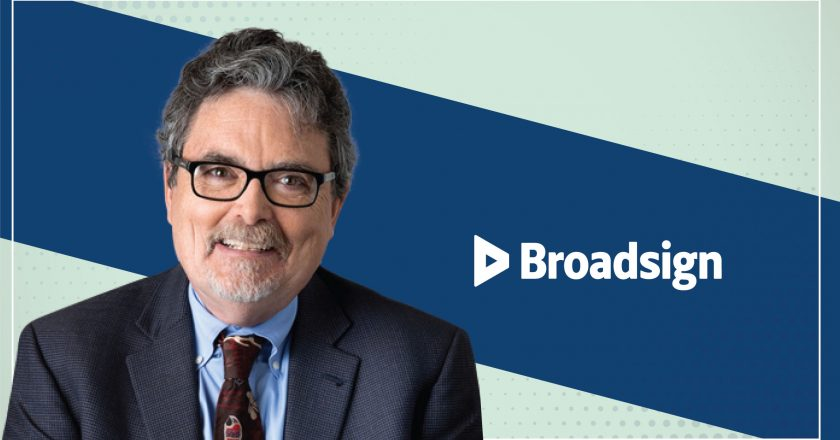 MarTech Interview with Burr Smith, Chairman of the Board, President and CEO at BroadSign
