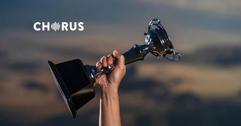Chorus.ai Wins 2019 Aragon Research Innovation Award for Conversational AI