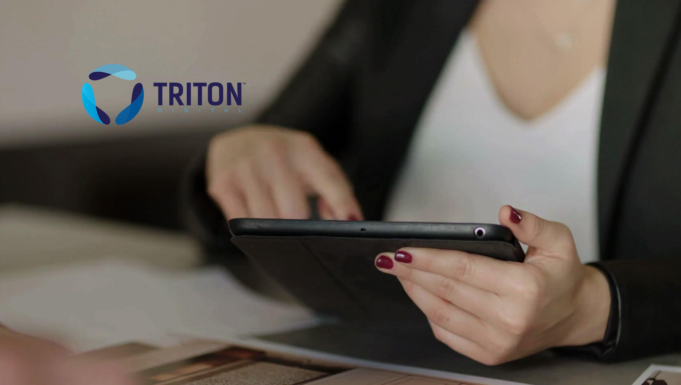 Triton Digital Releases Webcast Metrics Rankings for the Top Digital Audio Properties for October 2019