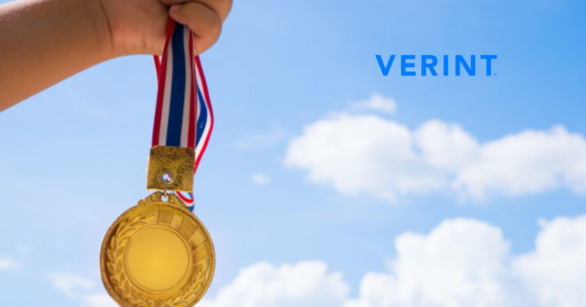 Verint Wins Trifecta of 2019 Awards for Solutions That Improve CX, Compliance