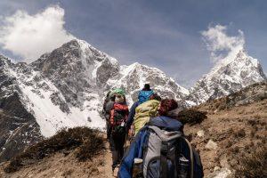 hiking-group-climbers-hiking-mountain-trail