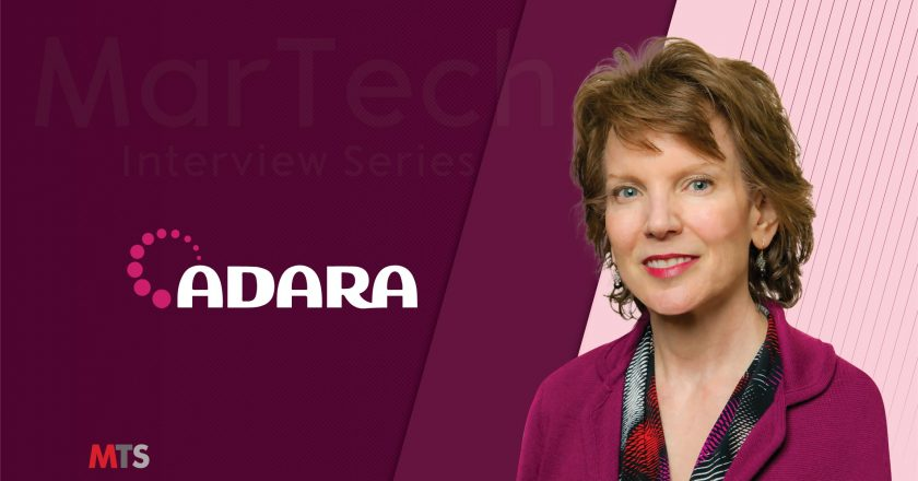 MarTech Interview with Carolyn Corda, Chief Marketing Officer at ADARA