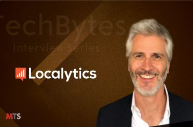 TechBytes with Jude McColgan, CEO at Localytics