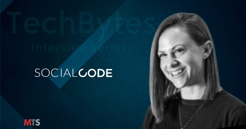 TechBytes with Lizzy Glazer, General Manager at CodeAudio, SocialCode