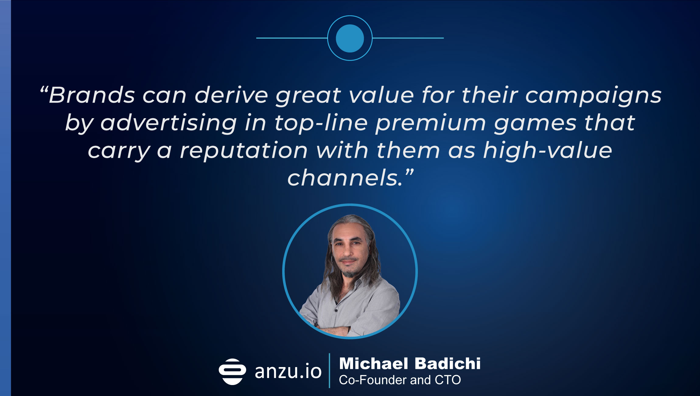 TechBytes with Michael Badichi, Co-founder and CTO at Anzu.io