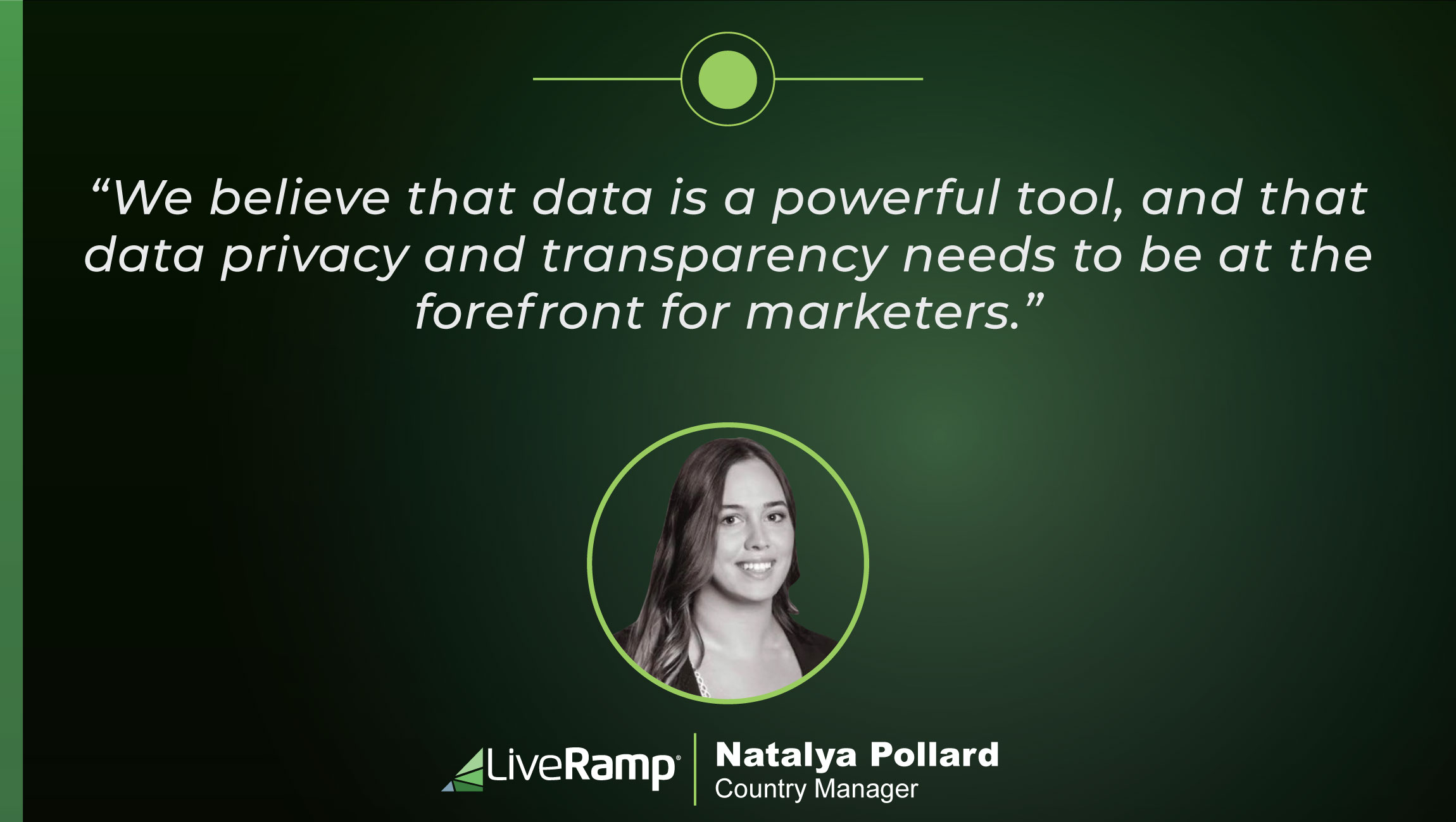 TechBytes with Natalya Pollard, Country Manager at LiveRamp ANZ