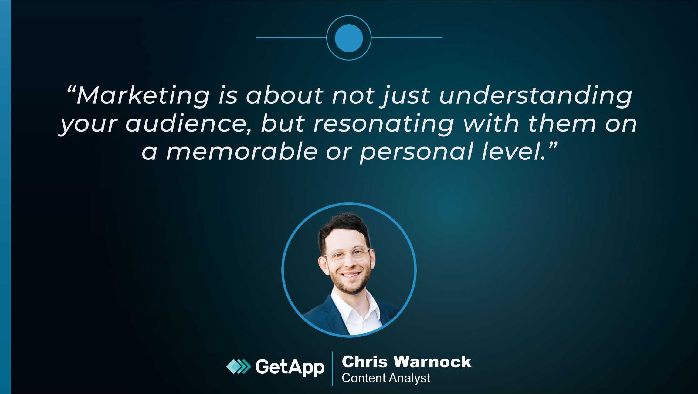 TechBytes with Chris Warnock, Content Analyst at GetApp (now part of Gartner)