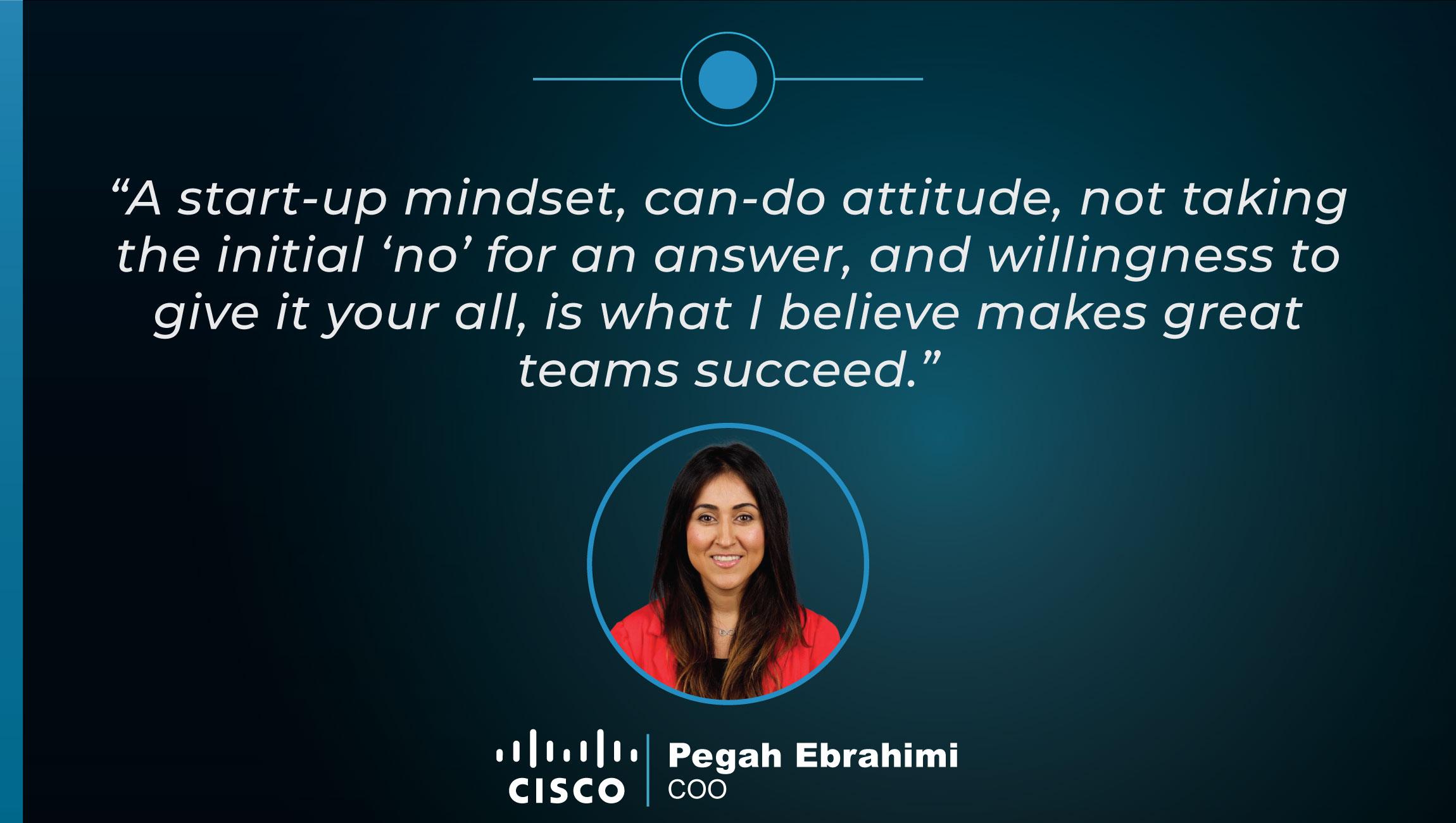 TechBytes with Pegah Ebrahimi, COO at Cisco