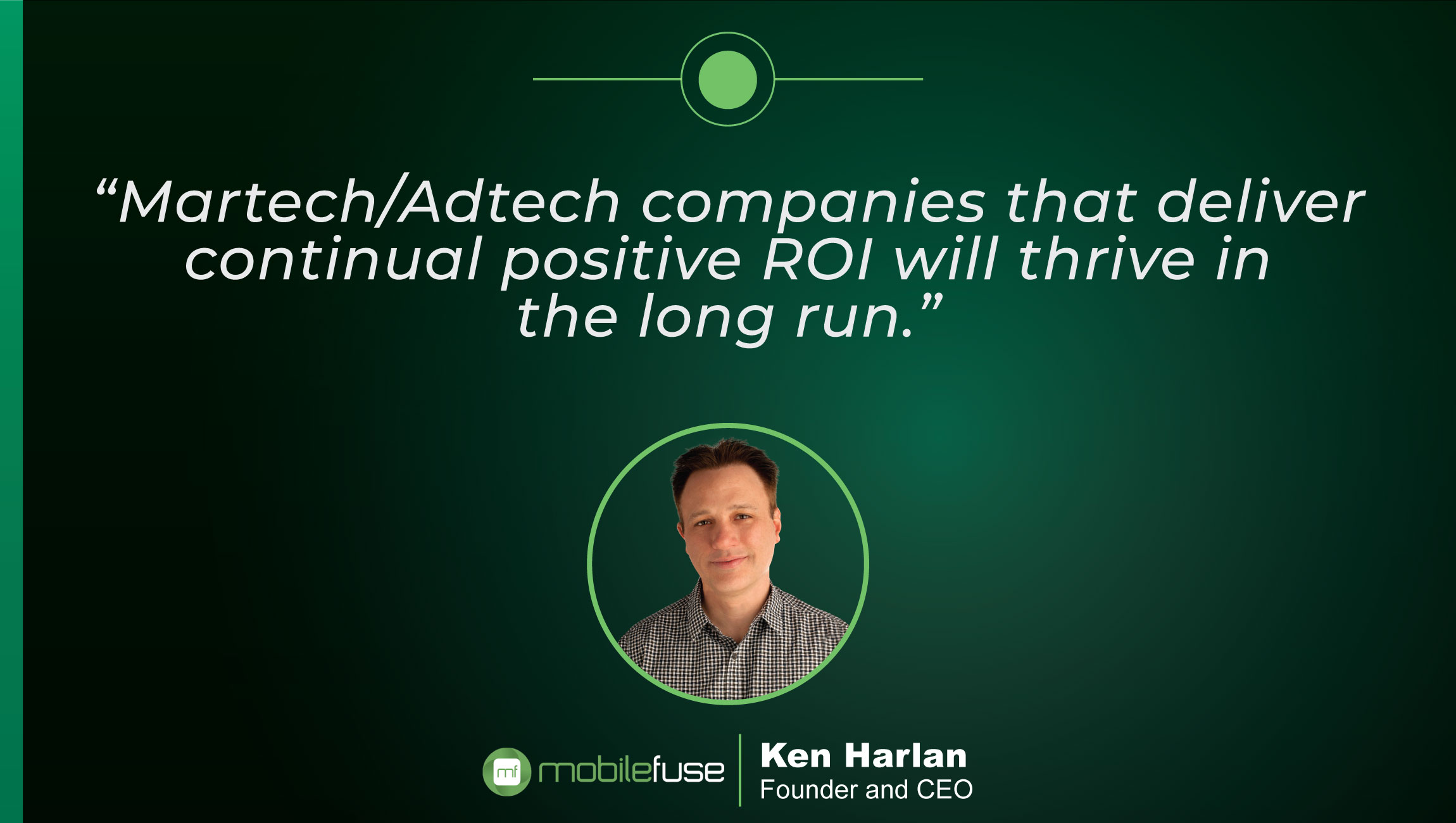 TechBytes with Ken Harlan, Founder and CEO at MobileFuse