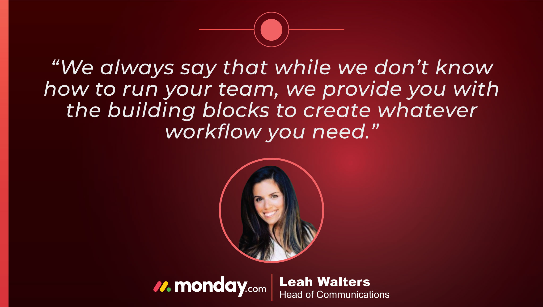 TechBytes with Leah Walters, Head of Communications at monday.com