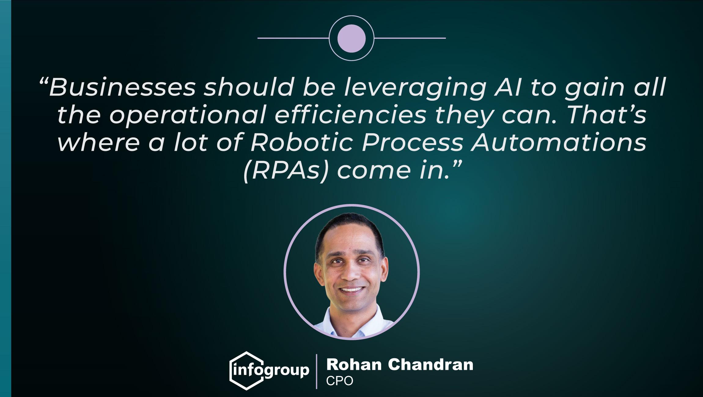 TechBytes with Rohan Chandran, CPO at Infogroup