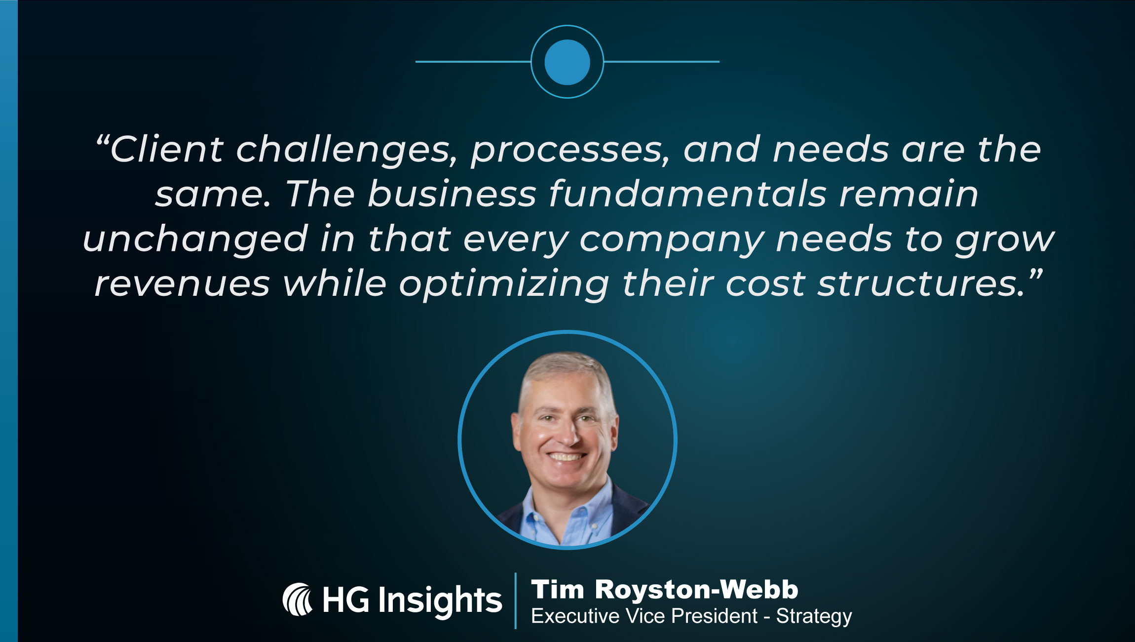 TechBytes with Tim Royston-Webb, Executive Vice President - Strategy at HG Insights