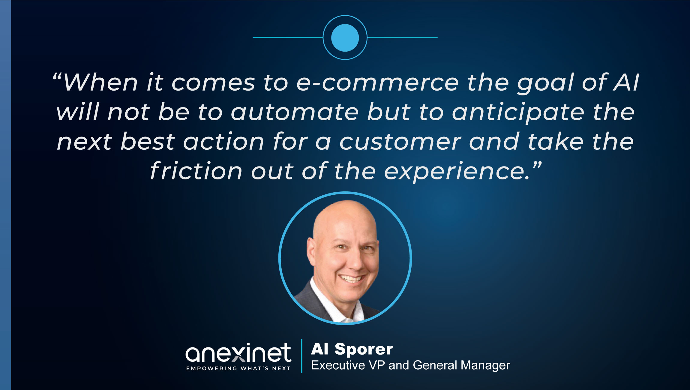 TechBytes with Al Sporer, Executive VP and General Manager at Anexinet