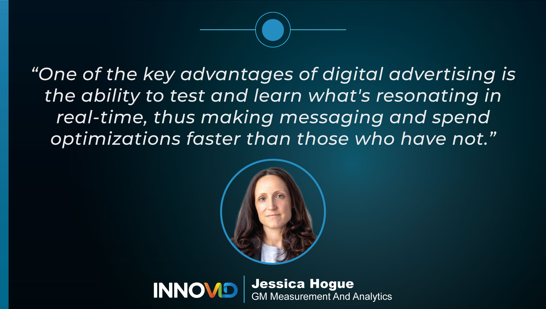 TechBytes with Jessica Hogue, GM Measurement & Analytics at Innovid