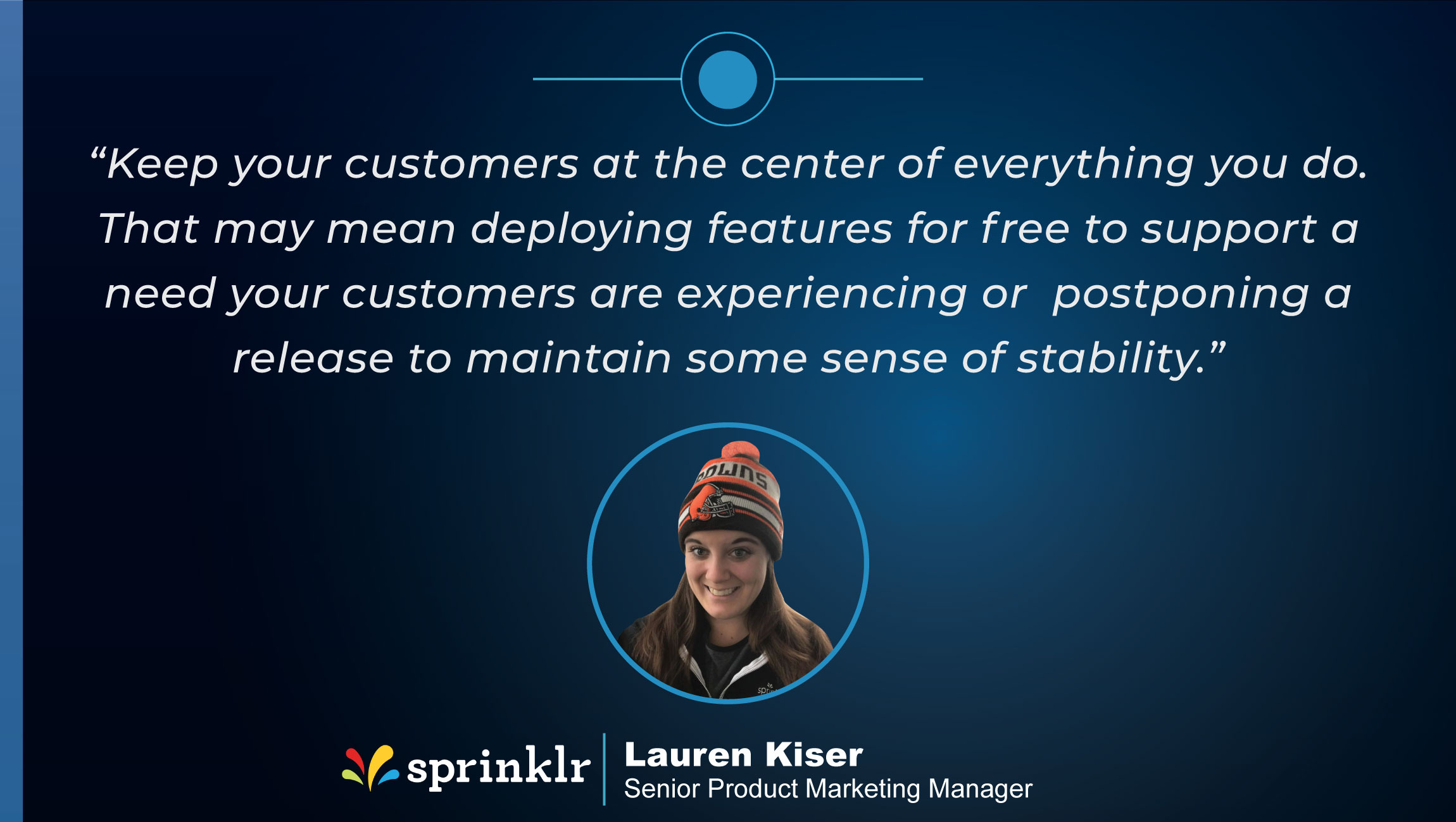 TechBytes with Lauren Kiser, Senior Product Marketing Manager at Sprinklr