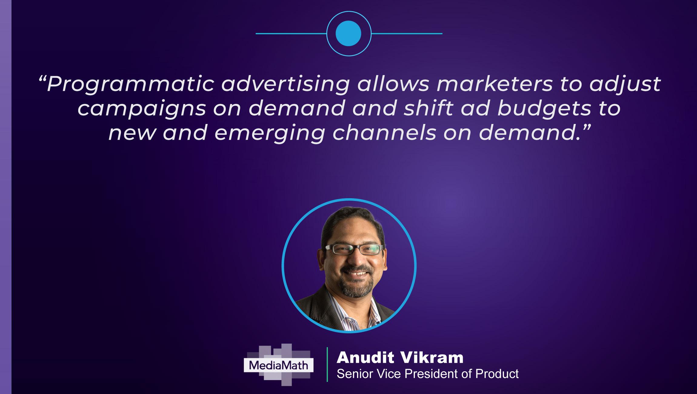TechBytes with Anudit Vikram SVP of Product at MediaMath