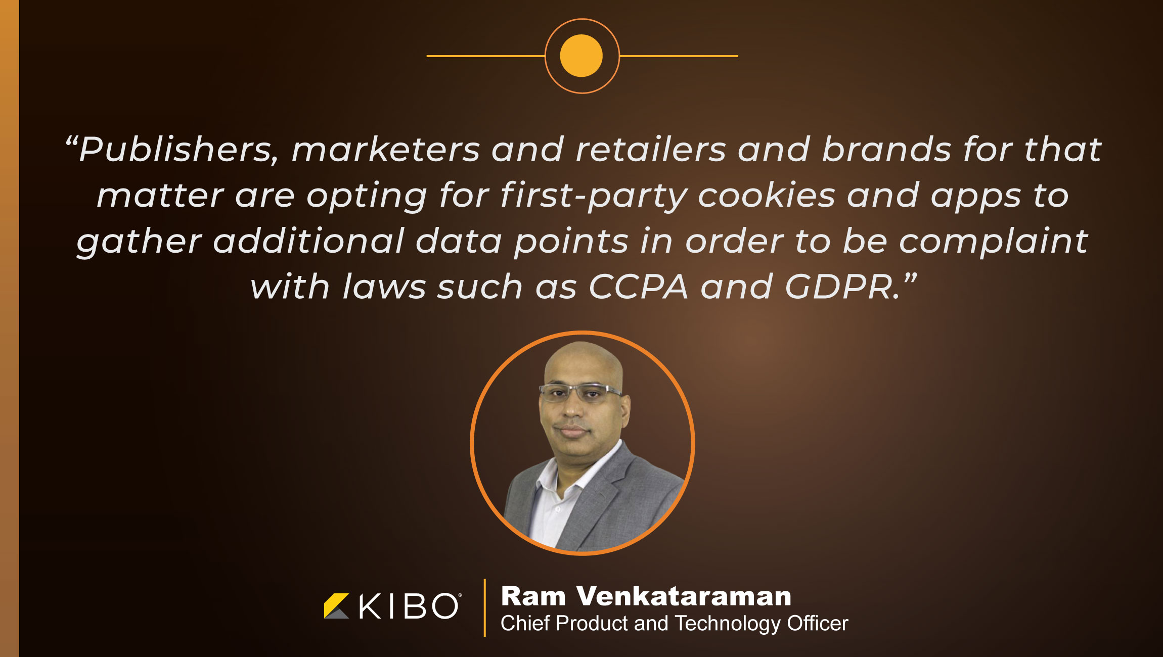 TechBytes with Ram Venkataraman, Chief Product and Technology Officer, Kibo