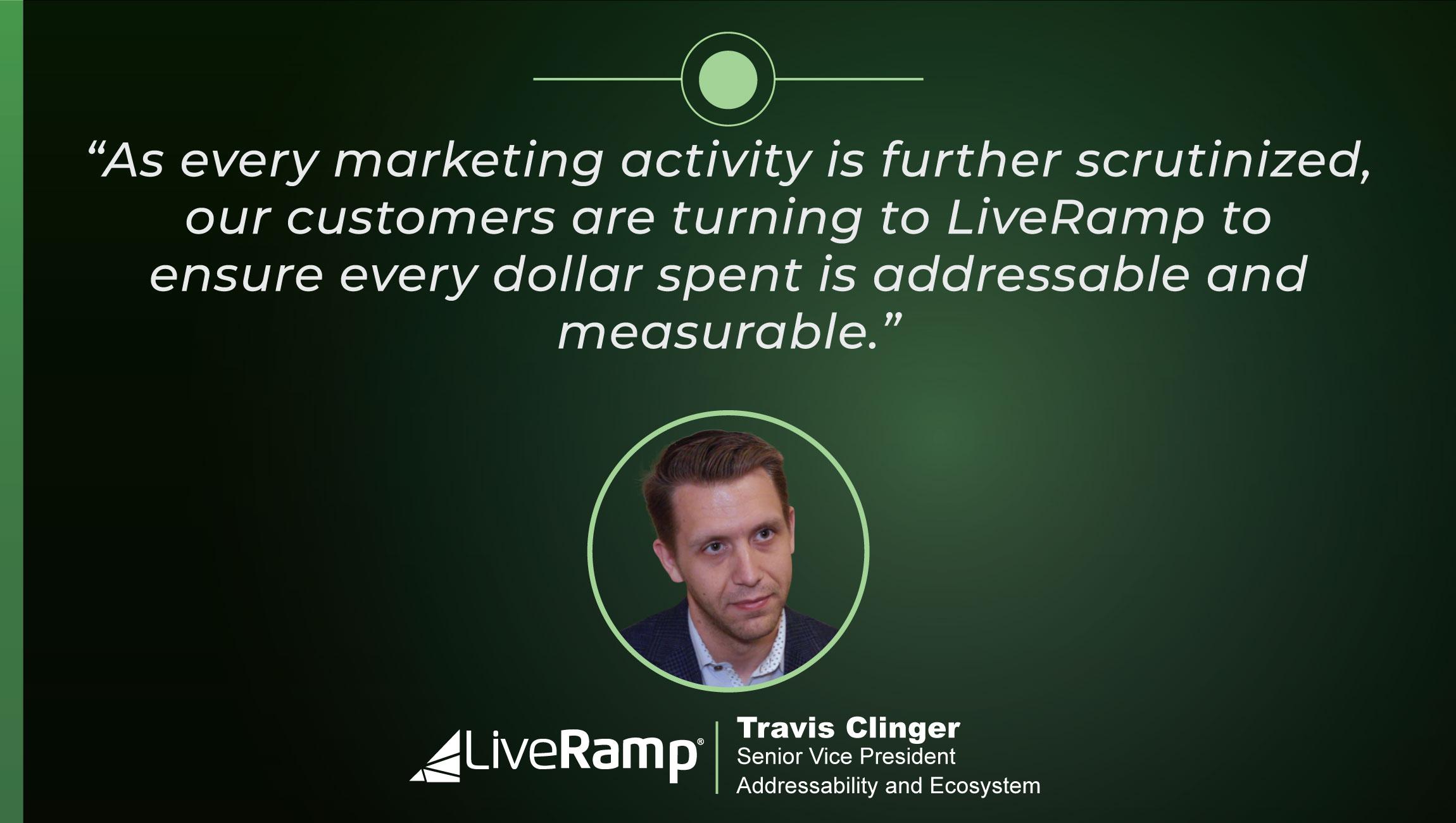 TechBytes with Travis Clinger, SVP Addressability & Ecosystem, LiveRamp