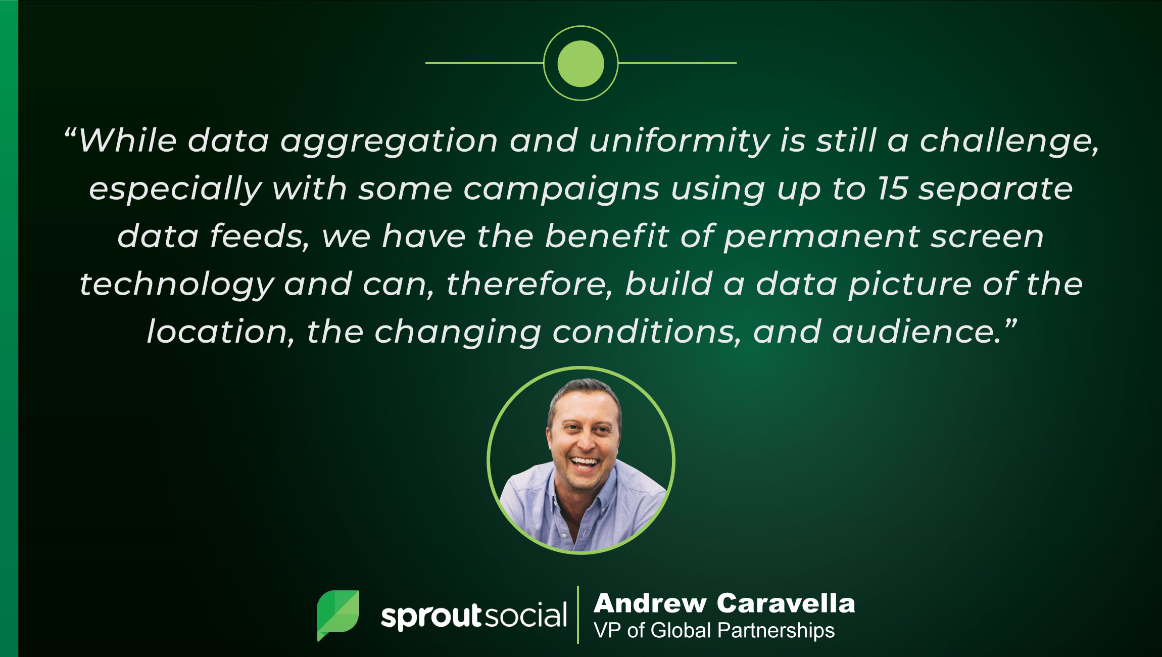 TechBytes with Andrew Caravella, VP of Global Partnerships at Sprout Social