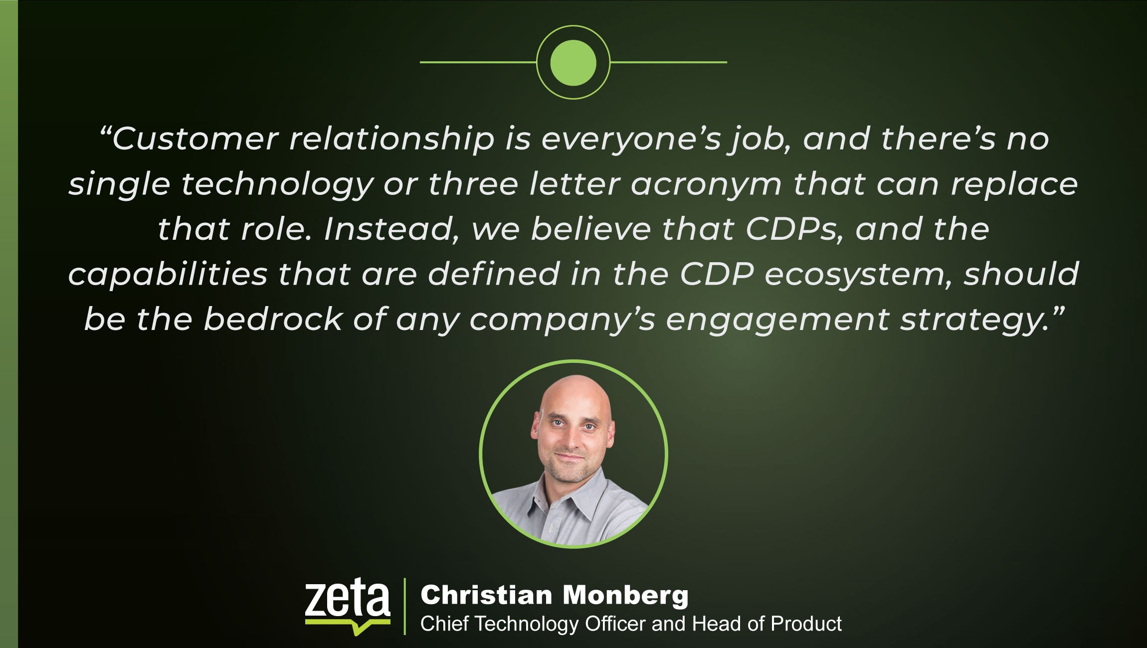 TechBytes with Christian Monberg, CTO and Head of Product at Zeta Global
