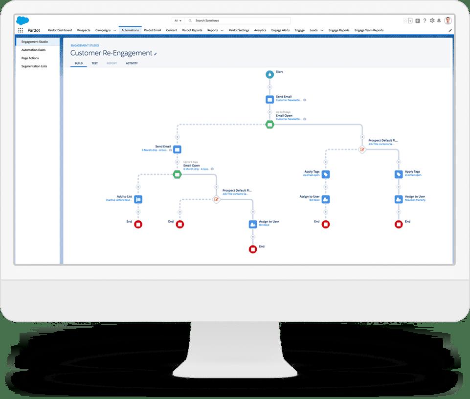 Customer Re-engagement map- Salesforce Pardot