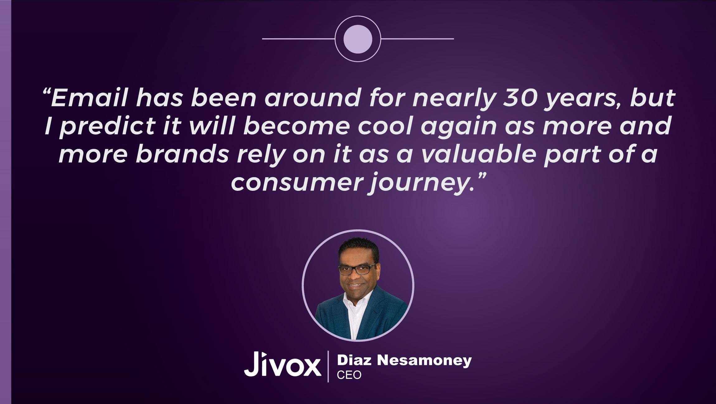 TechBytes with Diaz Nesamoney, CEO at Jivox